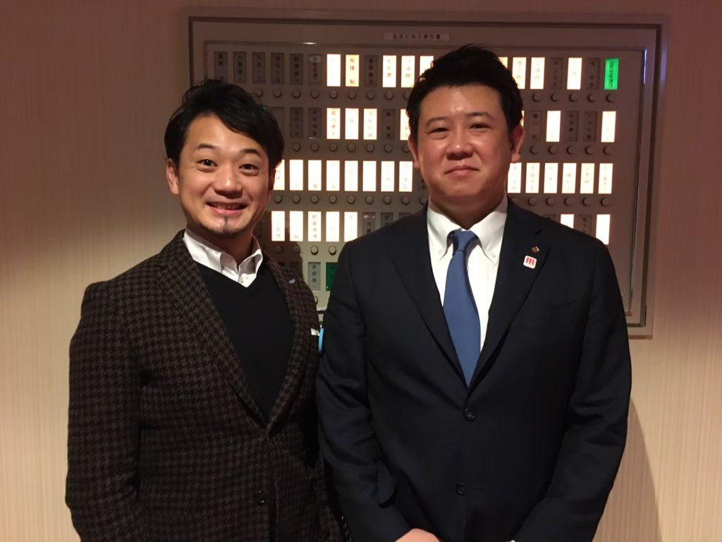 2020年2月7日撮影(仁戸田先輩、山本委員)